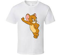 jerry retro cartoon character worn gift shirt