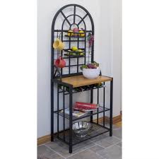 Outdoor Bakers Rack Wrought Iron Dining Rooms Ideas Target Rack Wood Bakers Rack Baker Rack