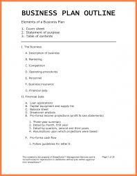 Business Plan Template Restaurant 12 Examples Business Plan Outline Bussines Proposal 2017
