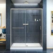 Single Frameless Shower Door Sliding Frameless Shower Door Sliding Shower Doors Ideas Barn