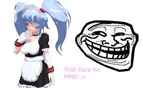 Troll Meme Mask - mmd troll face download by amiamy111 on deviantart