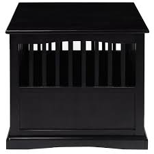 Dog Bed Nightstand Wood Dog Crate End Table Pet Bed Cat Cage Kennel Furniture Indoor