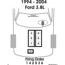 solved need spark plug wire diagram for 94 ford mustang fixya