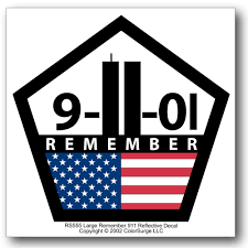 halloween car stickers amazon com remember 911 reflective decal automotive