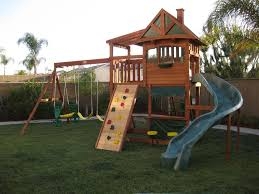 backyard swing traditional kids playset 5 backyard playground and