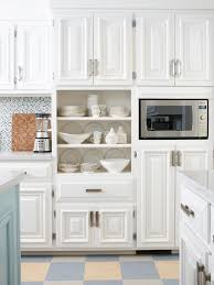 Leaded Glass Kitchen Cabinets Cabinets U0026 Drawer Elegant Farmhouse White Cottage Kitchen