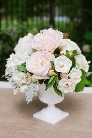 White Roses Centerpiece by Best 20 Blush Centerpiece Ideas On Pinterest Wedding