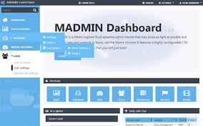 menu templates for bootstrap madmin admin theme admin dashboards wrapbootstrap