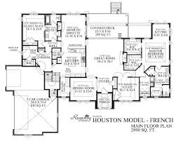 French Provincial Floor Plans by Inspiring Custom Homes Plans 14 Custom Ranch Home Floor Plans