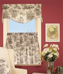 terrific french country curtains curtain kitchen in valances