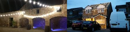 Hire Outdoor Lighting - outdoor lighting hire custom lighting falkirk stirlingshire