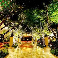 outdoor christmas laser projector sky stage spotlight showers