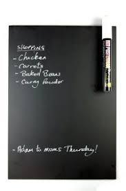 tableau magnetique cuisine bhma limited eaziwipe tableau noir a4 pour réfrigérateur avec