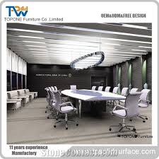 marble conference room table 2017 new design acrylic solid surface interior stone conference room