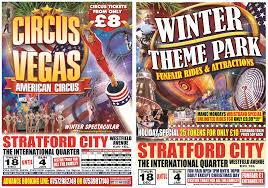 circus winter theme park