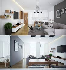decorating ideas for open living room and kitchen 23 open concept apartment interiors for inspiration