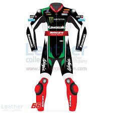 kawasaki riding jacket shop tom sykes kawasaki wsbk 2017 motorbike leather suit