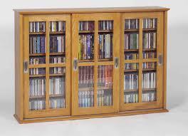 wood cd dvd cabinet amazing of dvd storage cabinet with doors wooden cd dvd storage