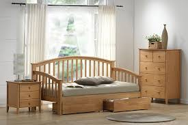 Single Wooden Day Bed Joseph Maple Day Bed Solid Hardwood In Maple - Joseph maple bunk bed