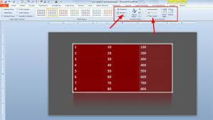 Change Table Style How To Add Styles To Tables In Powerpoint