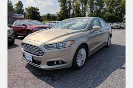 used white ford fusion energi for sale edmunds