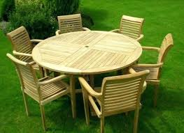 round teak outdoor dining table 4wfilm org