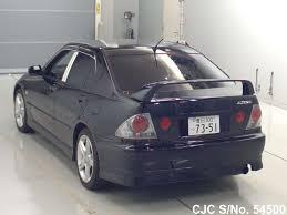 toyota lexus altezza for sale 2004 toyota altezza black for sale stock no 54500 japanese