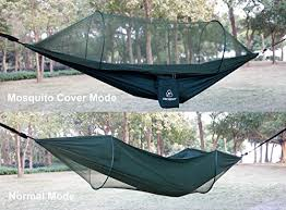 hammock packgout anti mosquito portable camping hammock military