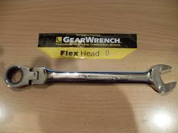 Sunex 1848 by New Gearwrench Flex Head Sae Metric Ratcheting Combination