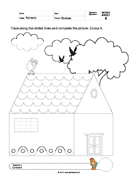 trace and color worksheets free worksheets library download and