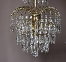 Art Nouveau Lighting Chandelier Restoring A Vintage Crystal Chandelier Inspiration Home Designs