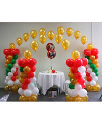balloon arrangements for birthday birthday party balloon decoration in coimbatore india