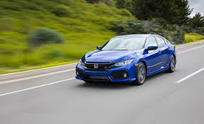 honda civic 2017 honda civic si first drive review car and driver