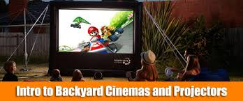 Backyard Projector Outdoor Movie Hq Backyard Movies Screens And Projectors
