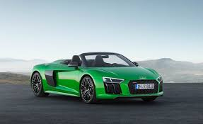 2018 audi r8 spyder pictures photo gallery car and driver