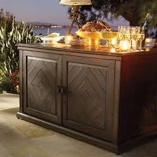 outdoor console buffet table get many functions of outdoor
