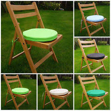 Waterproof Chair Pads Polyester Round Seat Pads Furniture Cushions Ebay