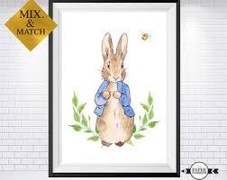 peter rabbit print etsy