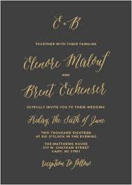 and black wedding invitations foil sted wedding invitations gold silver gold basic