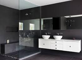 bathroom white floating bathroom vanity set with large mirror