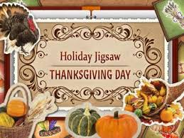 jigsaw thanksgiving day free