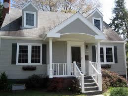 cape home designs cape cod front portico porch design architecture residential