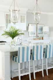 graceful white tone furniture beach house design ideas present