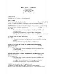 Great Job Resume Examples by Examples Of Resumes 93 Astounding A Great Resume Objective For