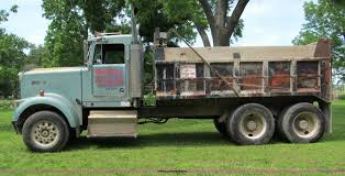 kenworth w900 for sale 1985 kenworth w900 dump truck item f5102 sold june 27 c