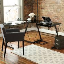 Officemax Glass Desk Office Max Desks Best Home Furniture Decoration