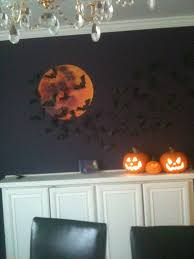 halloween door decoration party under the moon haunted house