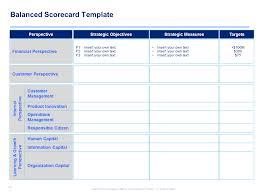 strategy map template u0026 balanced scorecard template by ex mckinsey
