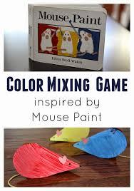 la pizarra de david surprise color mixing heart craft for