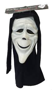 stoned scary movie scream mask u0026 cape halloween amazon co uk